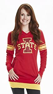 NCAA Iowa State Cyclones Ladies Tunic Hoodie by Wishbone