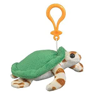 Wildlife Artists Green Sea Turtle Plush Sea Turtle Stuffed Animal Backpack Clip Toy Keychain WildLife Artists