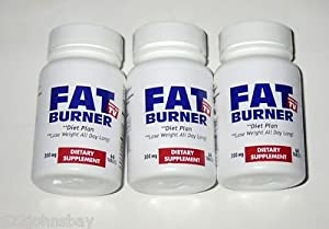 FAT BURNER , Lose Weight All Day Long! As seen on TV 3 PACK 180 Tabs