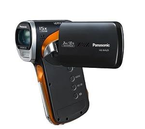 PANASONIC HX-WA20 HD camcorder - grey Plus 16 GB SDHC Memory Card Plus Case - Size M