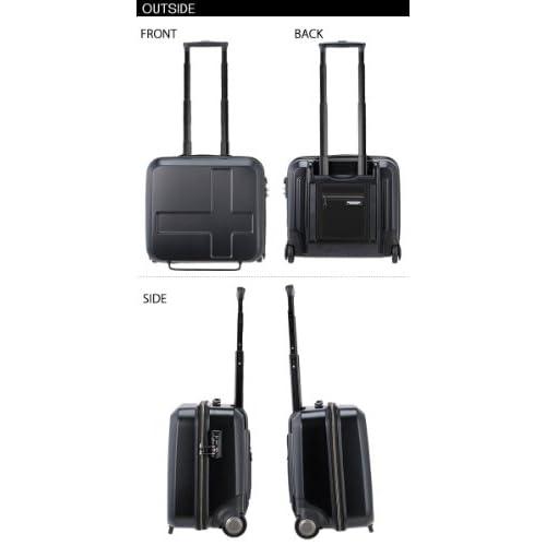 innovator スーツケース イノベーター ビジネスキャリー 【37cm】 INV-170アイスグレー