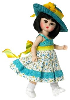 Buy Madame Alexander 8 Inch Americana Collection Doll – Sweet Sunflower