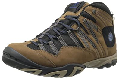 Timberland Men's Intervale Mid Boot,Dark Brown,13 M US