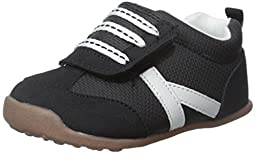Carter\'s Every Step Oldie-BW2 Boys Athletic Shoe (Toddler), Black, 5.5 M US Toddler