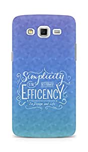 AMEZ Simplicity is the best form of Efficency Back Cover For Samsung Galaxy Grand Max