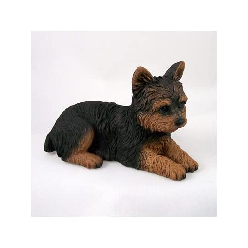 Amazon.com: Yorkshire Terrier Puppy Cut Standard Figurine: Everything ...