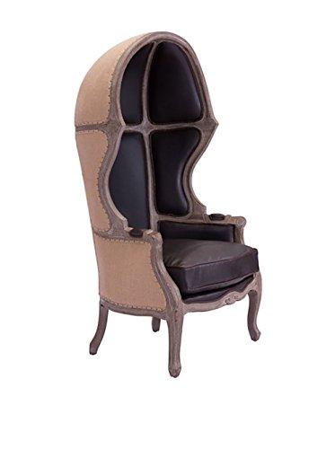 Zuo Modern Ellis Modern Occasional Chair, Brown