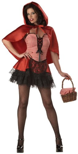 Costumes For All Occasions IC2025SM Small Hot Riding Hood Adult - Red