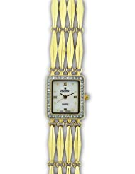 Croton Women's CR207947YLMP Swiss Parts Quartz Watch