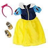 Snow White Inspired Doll Clothes for 18 Dolls: 3 pc Outfit By Dress Along Dolly (Includes Dress, Headband, and Shoes)