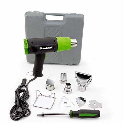 Sale!! Kawasaki 840015 Black 10-Piece Heat Gun Kit