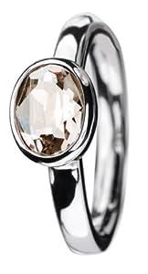Betty Barclay Betty Barclay Ring Crystal Emotions BB60125 - 58 - Anillo de mujer de plata de ley (talla: 18)