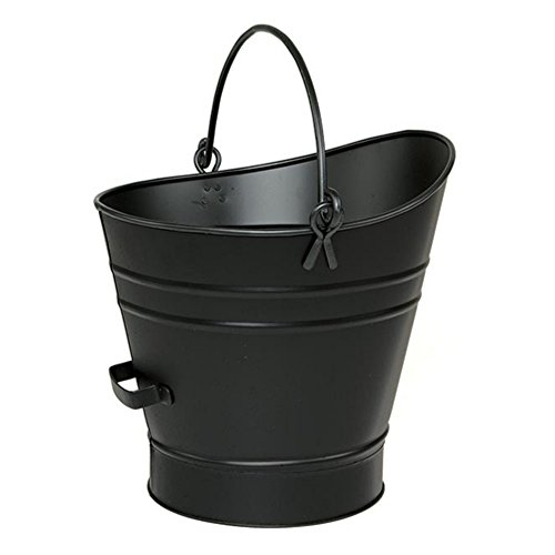 Minuteman International Coal hod/pellet bucket, Black, Metal, Small image