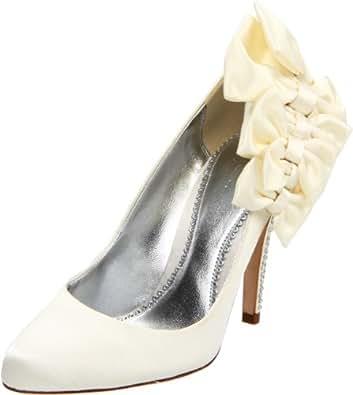 Bourne Hannah Wedding Shoes UK3 EU36 US5 Ivory Amazoncouk Shoes Amp Bags