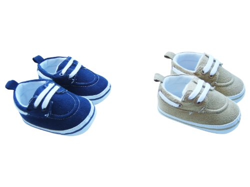 MABINI® Baby Boys Canvas Style Lace Up Shoes / Booties