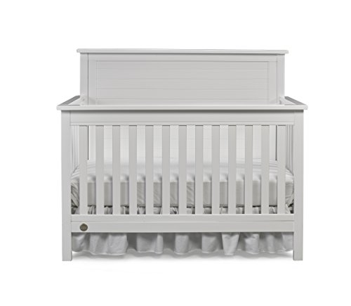 Fisher-Price Quinn 4-in-1 Convertible Crib, Snow White (Vintage White Crib compare prices)