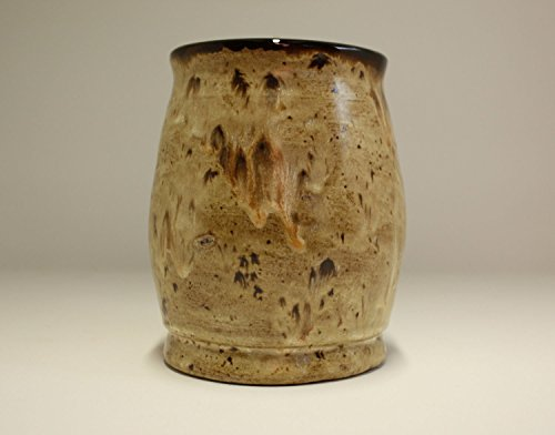 beautiful-hand-made-vase-with-variegated-brown-glazes
