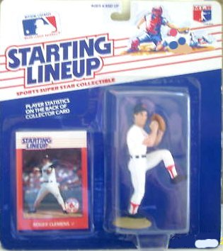 Roger Clemens Action Figure (Boston Red Sox) - 1988 Starting Lineup Major League Baseball First Series - 1