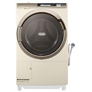 日立 10.0kg ドラム式洗濯乾燥機【左開き】シャンパンHITACHI BD-ST9700L-N