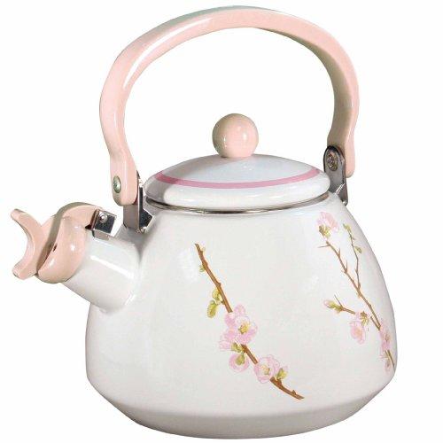 Corelle Coordinates Cherry Blossom Whistling Teakettle