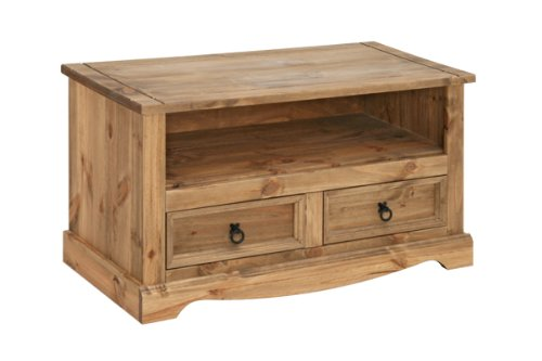 Corona Solid Pine Flatscreen TV Unit