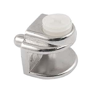 zur befestigung an der wand 8 mm dickes glas metall clip in u form und klemme verstellbar. Black Bedroom Furniture Sets. Home Design Ideas