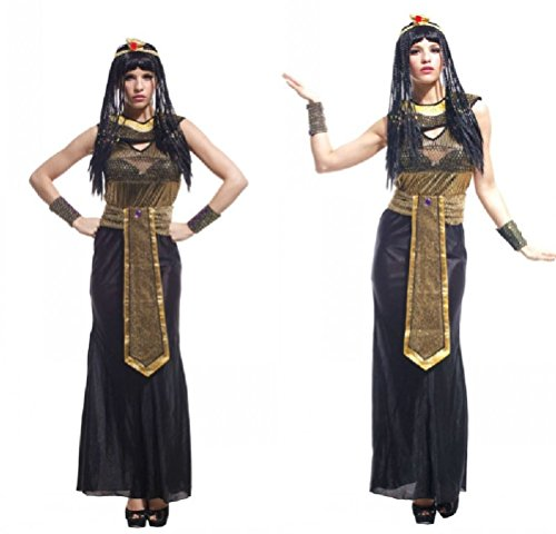Purplebox Adult Halloween Cosplay Costume Cleopatra Costume Masquerade Queen Of Egypt