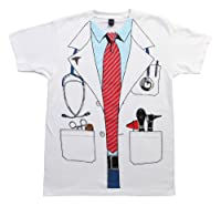 Impact Originals Men's White Doctor Costume T-shirt