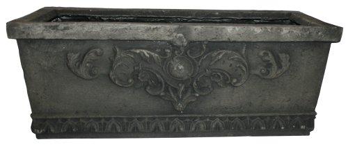 Southern Patio FGS-444423 30-Inch Fiberglass Aurelius Box, Concrete (Discontinued by Manufacturer)