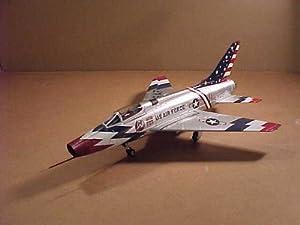 Skyblazer F-100c Super Sabre Plane Diecast Replica