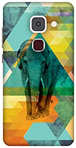 The Racoon Lean The New Ages hard plastic printed back case/cover for LeEco Le Max 2