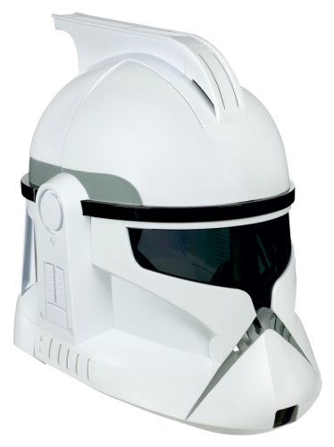 Star Wars Clone Trooper Voice Changer Helmet подвижная модель куклы hasbro star wars black