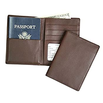 02. Royce Leather RFID - blocking Passport & Currency Wallet