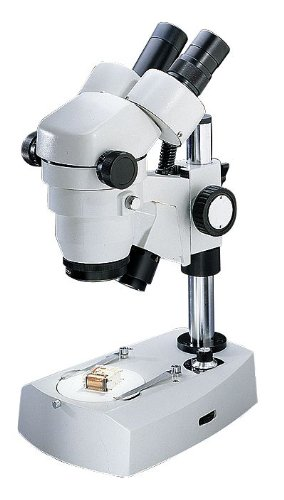 Binocular Stereozoom Microscopes; Magnification From 10X To 40X; Standard Stand Type; Top And Bottom