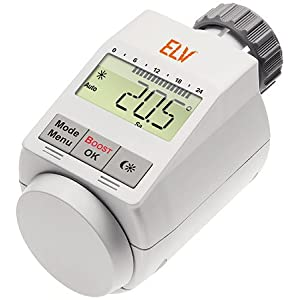 Elektronisches Heizkörper Thermostat für 15 Euro