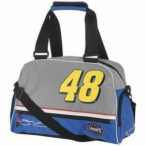 Jimmie Johnson Nascar Gym Bag by Racing Gifts