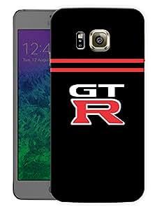 "Humor Gang Supercar Gtr Godzilla Printed Designer Mobile Back Cover For ""Samsung Galaxy Alpha"" (3D, Matte, Premium Quality Snap On Case)"