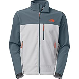 The North Face Men\'s Apex Bionic Jacket, High Rise Grey/Conquer Blue, XXLarge