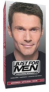 Just For Men Pflege-Tönungs Shampoo Natur Mittelbraun Haarfärbemittel