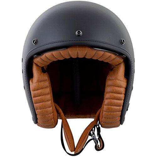ScorpionExo Belfast 3/4 Open Face Helmet (Matte Black, X-Large) (Open Face Racing compare prices)