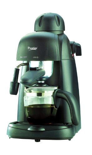 Prestige Tea Coffee Maker : Buy Prestige PECMD 1.0 800-Watt Espresso Coffee Maker on Amazon PaisaWapas.com
