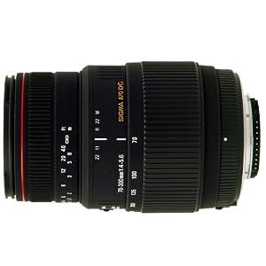 Sigma 70-300mm f/4-5.6 DG APO Macro Telephoto Zoom Lens for Canon SLR Cameras