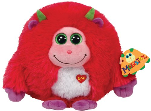 Ty Monstaz Trixie Plush Toy, Pink - 1