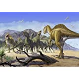 "Altispinax Dunkeri Dinosaurs Attack a Group of Iguanodon. - 24""W x 17""H - Peel and Stick Wall Decal by Wallmonkeys..."