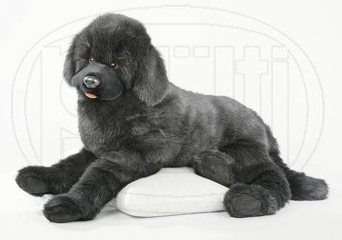PLÜTI Neufundländer Schlenkerhund schwarz *