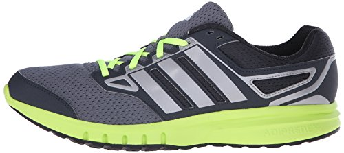 Adidas Performance Men's Galactic Elite M Running Shoe,Dark Grey/Solar Yellow/Iron Metallic/Grey,9 M US