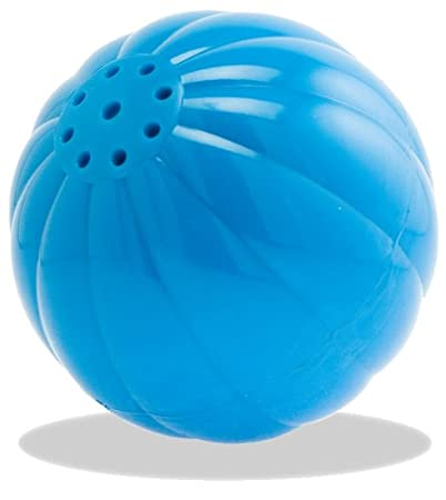 PetQwerks Talking Babble Ball Dog Toy, Large, Blue