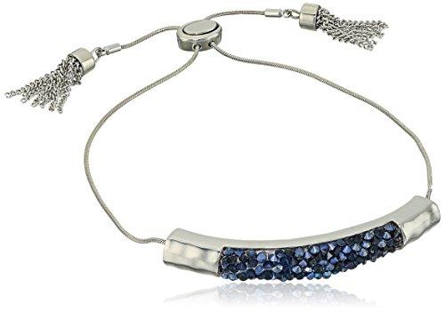 t-tahari-silver-saphire-stone-bracelet