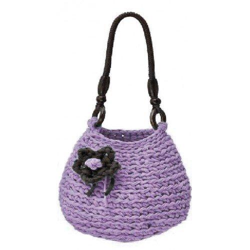 DMC Kit crochet Sac Rimini Zpagetti Violet