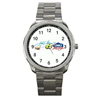 48 Jimmie Johnson Nascar Racing2 9WLGO010 Men's Wristwatches Stainless Steel